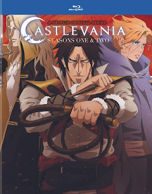 Castlevania Seasons 1 And 2 Bluray