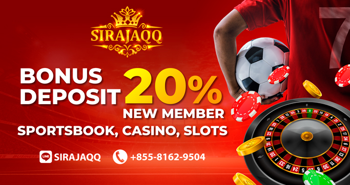 BONUS DEPOSIT NEW MEMBER 20% ALL GAME