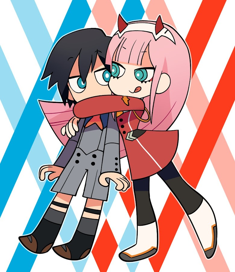 DARLING in the FRANXX 4-Koma - หน้า 1