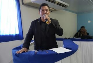 Vereador Markony Mendes usa tribuna da Câmara para convidar todos os educadores para Audiência Publica para tratar dos PRECATÓRIOS do FUNDEF