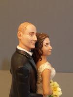 statuette sposini ritratti abiti volti personalizzati da foto realistici orme magiche