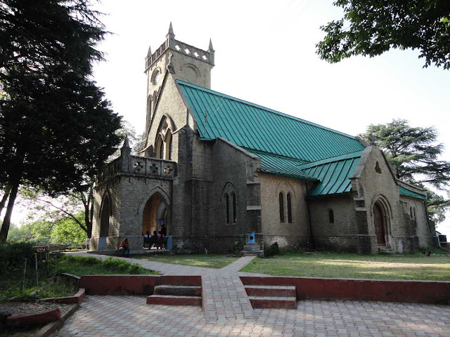 Kasauli Attraction :  Baptist Church Kasauli