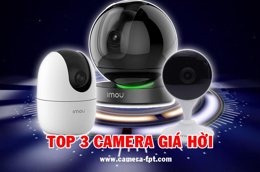 Top 3 mẫu Camera Wifi trong nhà giá hời dịp cuối năm