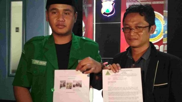 Banser Difitnah PKI, Ansor Jatim Polisikan Akun FB Cinta Zain