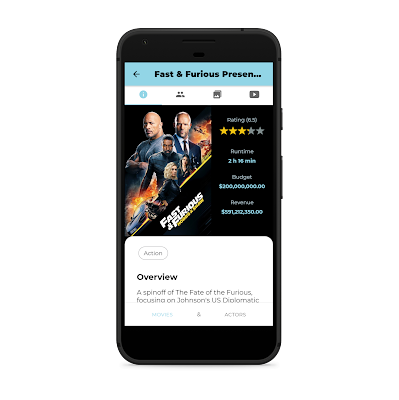 The film Data Base Ionic Android Application - 8