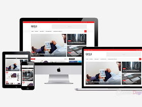 Enfold - AMP Blogger Template (Free Download) - Responsive Blogger Template