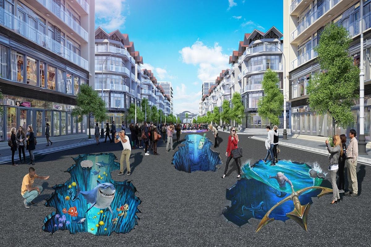 Con đường 3D FLC Sầm Sơn