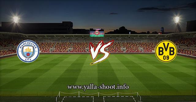مشاهدة مباراة مانشستر سيتي وبروسيا دورتموند بث مباشر اليوم الأربعاء 14-4-2021 يلا شوت في دوري أبطال أوروبا