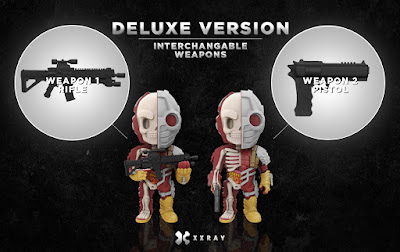 DC Comics XXRAY Dissection Suicide Squad Series 4 Vinyl Figures by Jason Freeny & Mighty Jaxx - Deadshot