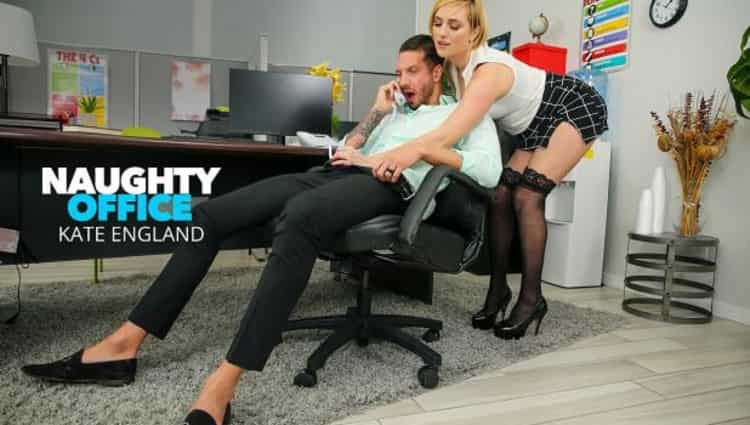 Kate England in Kate England fucks at the office - Naughty America