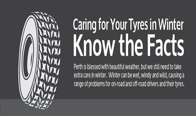 Caring For Your Winter Tyres #infographic