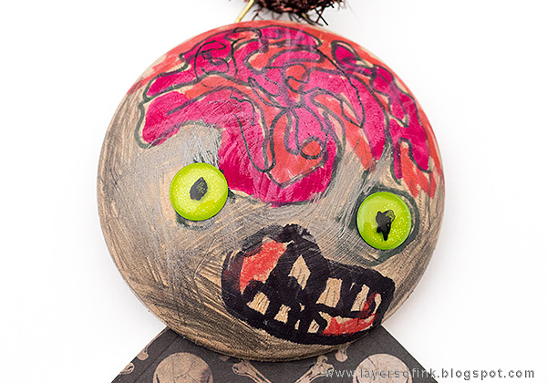 Layers of ink - Kids Craft Zombie