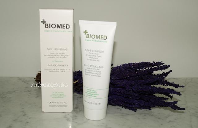 limpiadora 5 en 1 biomed organic