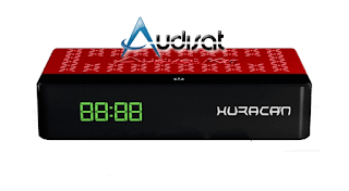 Audisat K20 Huracan Atualização V2.0.66 - 17/03/2021
