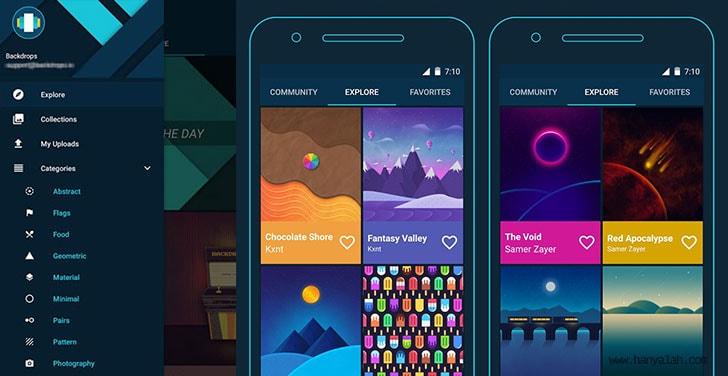 Gratis 6 Aplikasi Wallpaper Terbaik Untuk Android