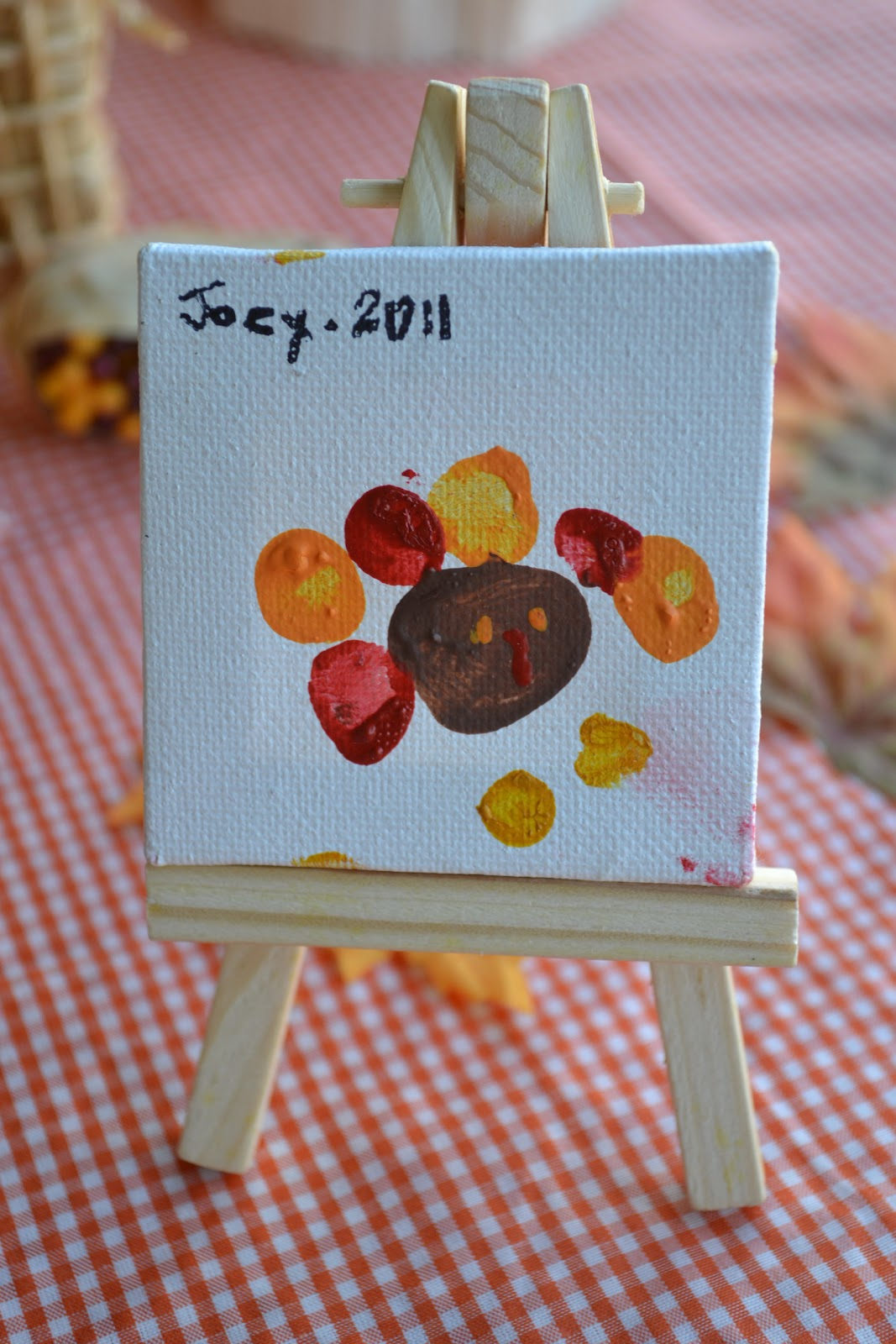 Crissys Crafts Gobble Painting