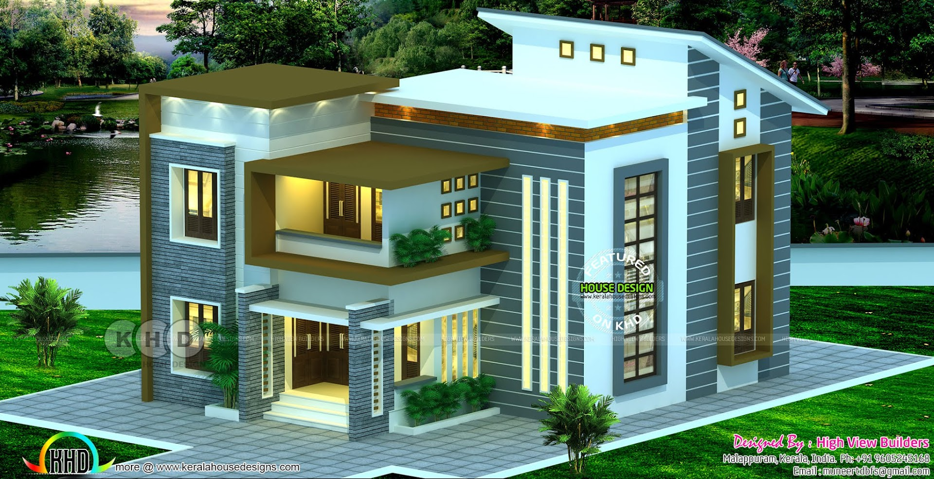 April 2019 Kerala Home Design And Floor Plans