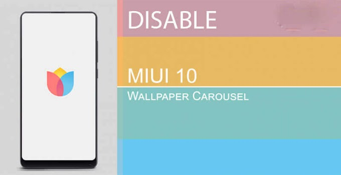 How To Disable Lock Screen Wallpaper Carousel In MIUI