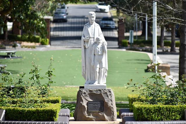 Strathfield Sculpture of Edmund Ignatius Rice at the St Patrick's College