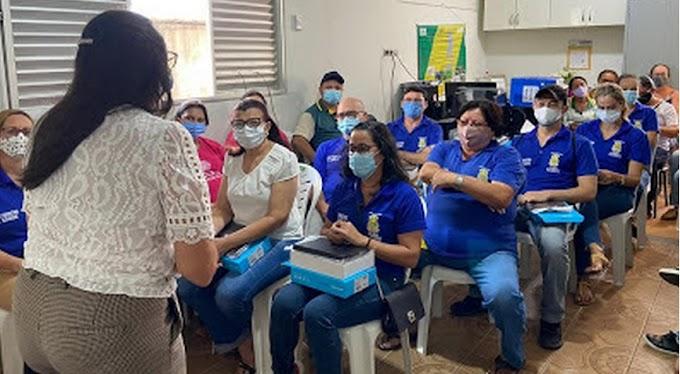 Tablet auxiliará trabalho dos Agentes de Saúde de João Alfredo