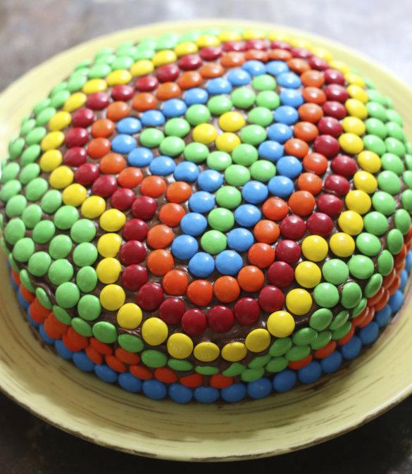 17 Apart Kids Birthday Cake Idea Decorating With MMs