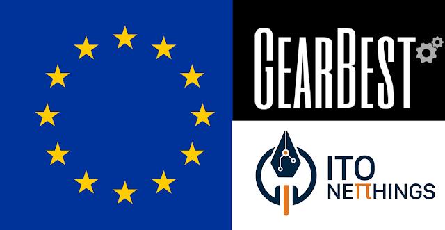 Armazéns Europeus Gearbest
