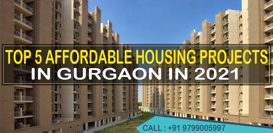 Top 5 Affordable Housing Projects in Gurgaon