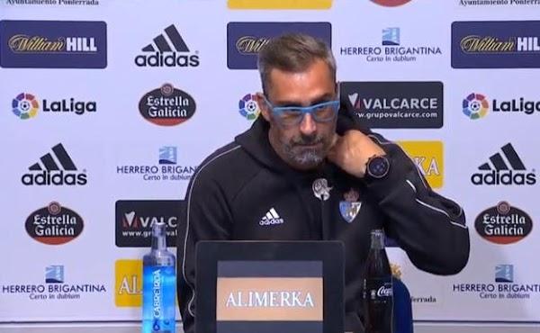 """Bolo - Ponferradina -: """"El Málaga está haciendo una grandísima temporada"""""""