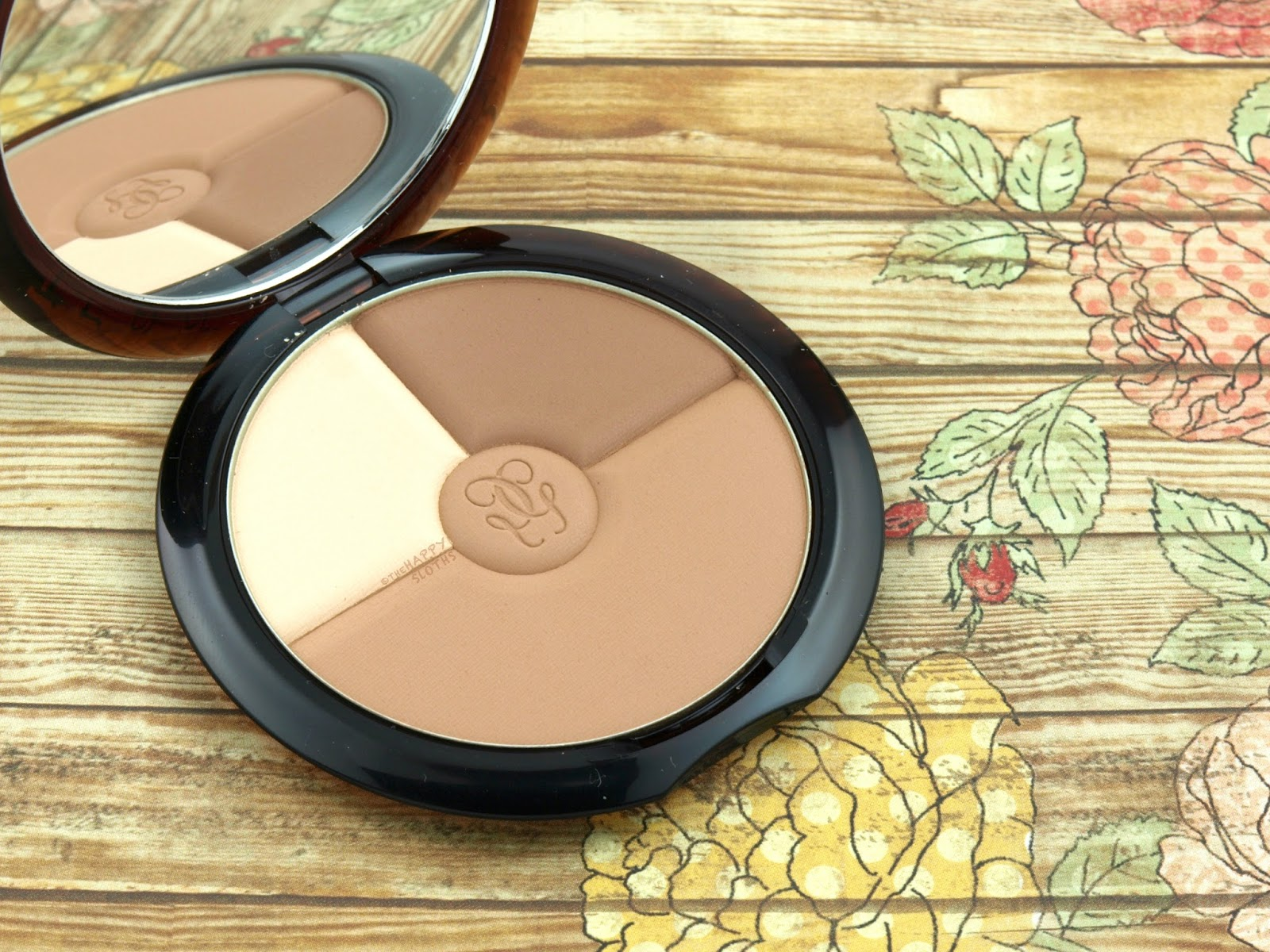 "Guerlain Terracotta Sun Trio Bronzing Contouring Palette in ""Light"": Review and Swatches"