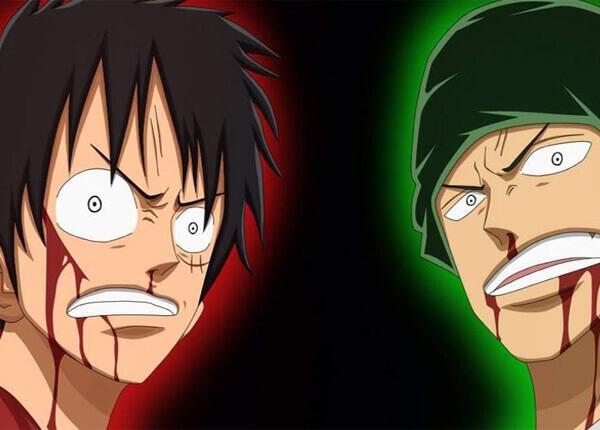 Đáp án cho cuộc chiến giữa Zoro và Luffy ai mạnh hơn?