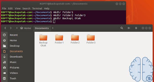 Membuat Folder Dengan Spasi Di Terminal Linux