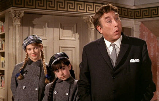 Maureen Crombie, Susan Jones and Frankie Howerd