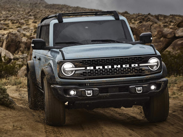 Ford libera configurador on-line do Bronco e Broco Sport