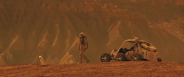 The Space Between Us Mars movie image - rover