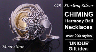 Chiming Harmony Ball Necklaces at MothersDayAustralia.net.au