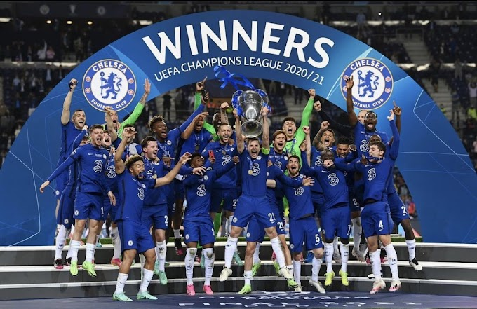 Congrats Chelsea 👏:  Chelsea beats Manchester City, 1-0, to win Champions League for first time since 2012