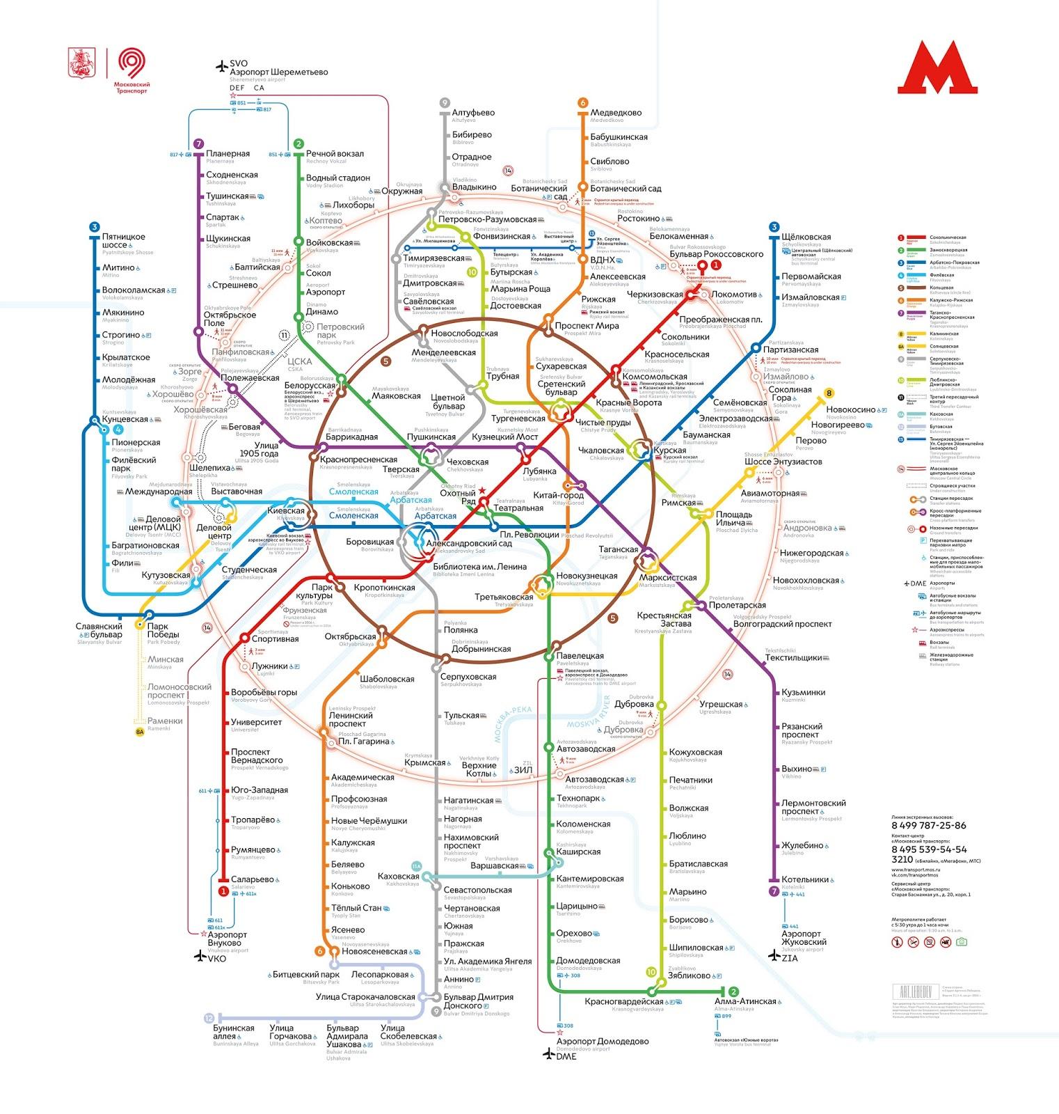 Visit Moscow Moszkva Metro
