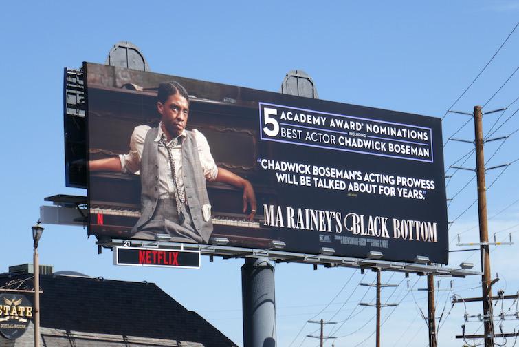 Chadwick Boseman Ma Raineys Black Bottom Oscar billboard