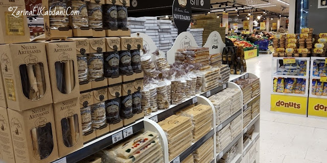 Turron Vicens at Carrefour
