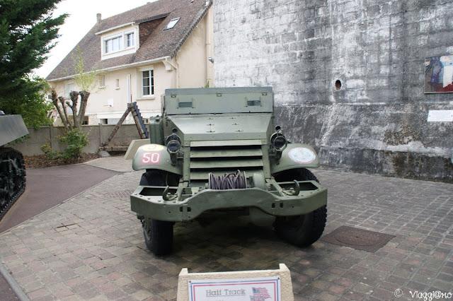 Jeep presso il Musée du Mur Atlantique