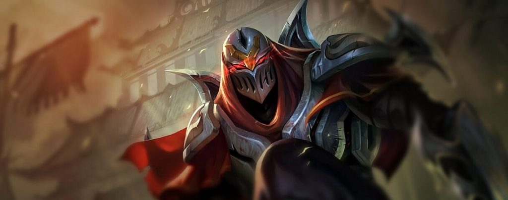 Zed is the carry in this combo.
