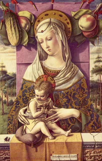 Carlo Crivelli, La Vierge à l'Enfant, vers 1480