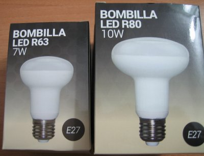 Barcelonaled R63 7W And R80 10W E27 Reflector Led Bulbs