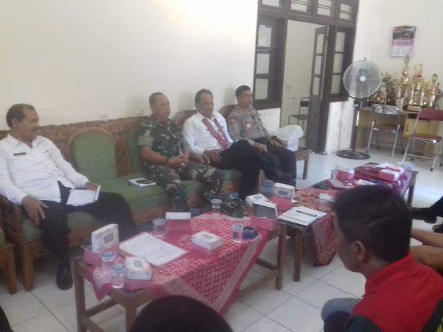 Rakor FKD Dan FKDM Tingkat Kecamatan Manisrenggo