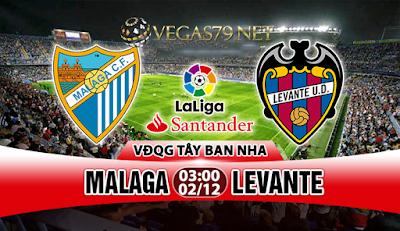 Nhận định - Soi kèo: Malaga vs Levante