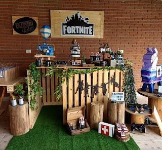 24 ideas para Fiesta de Cumpleaños Fortnite 10