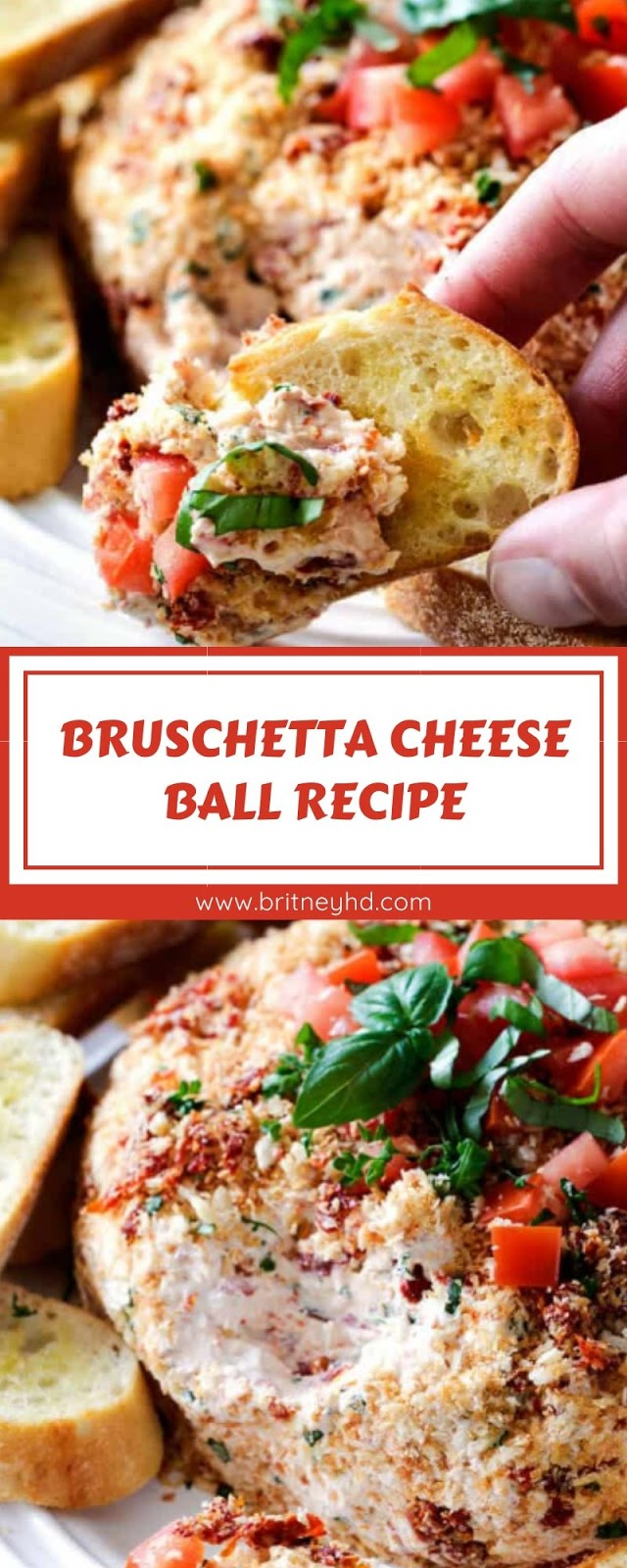 BRUSCHETTA CHEESE BALL RECIPE
