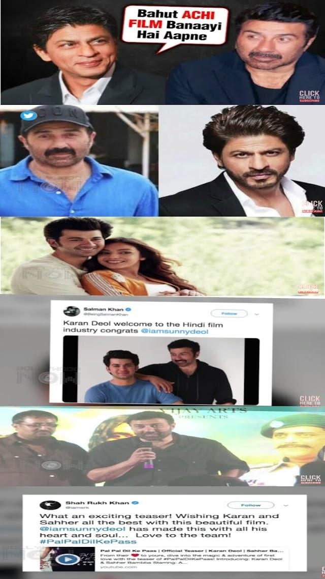 Shahrukh Khan PRAISES Upset Sunny Deol And His Son Karan Deol | Pal Pal Dil Ke Paas