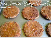 Resep Patties Burger Dari Tempe ( Burger Patties Recipes From Tempe )