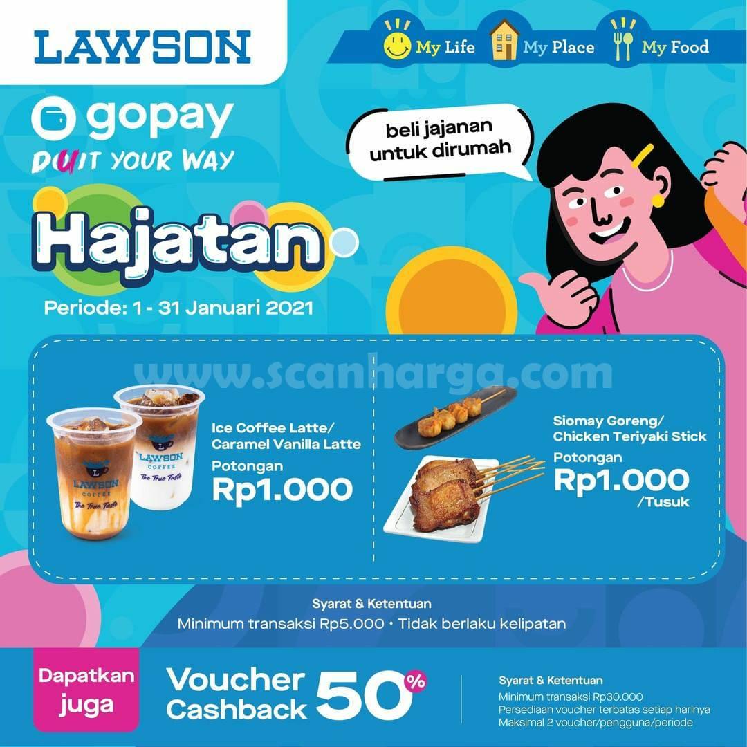 Promo Lawson Gopay Hajatan Periode 1 - 31 Januari 2021